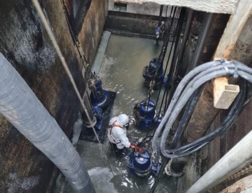 Čišćenje sabirne jame CS Škver