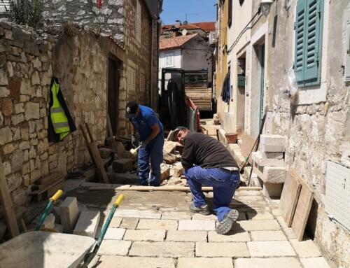 Stanje radova – sanacija kanalizacijske cijevi u Ul. Andrea Milossa